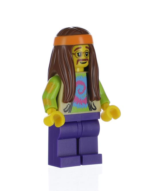 Series 7 Lego Figure Hippie col07-11