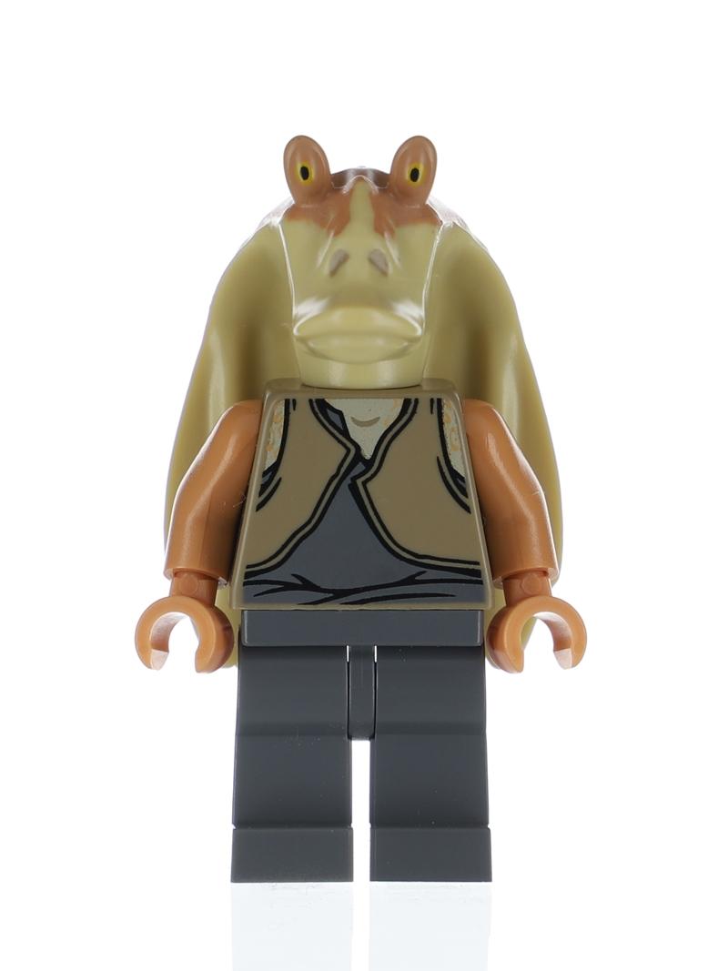 Lego Star Wars Jar Jar Binks Minifigure from sets 75080 9499 7929