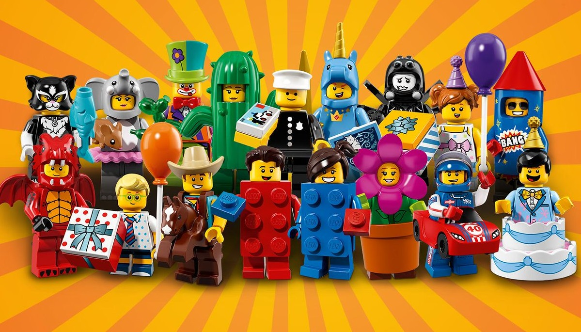 LEGO® Collectable Figures™ Series 12 Pizza Guy