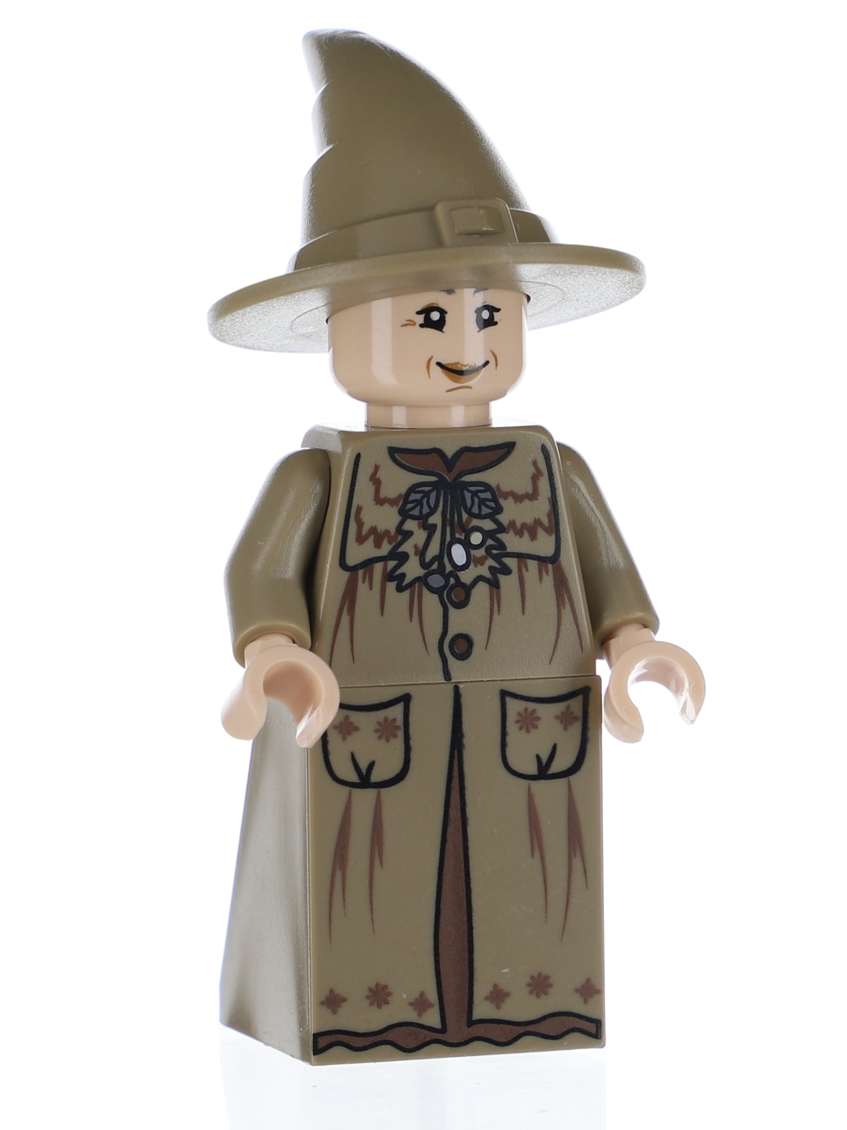 PROFESSOR SPROUT LEGO MINIFIG HARRY POTTER MINI FIGURE