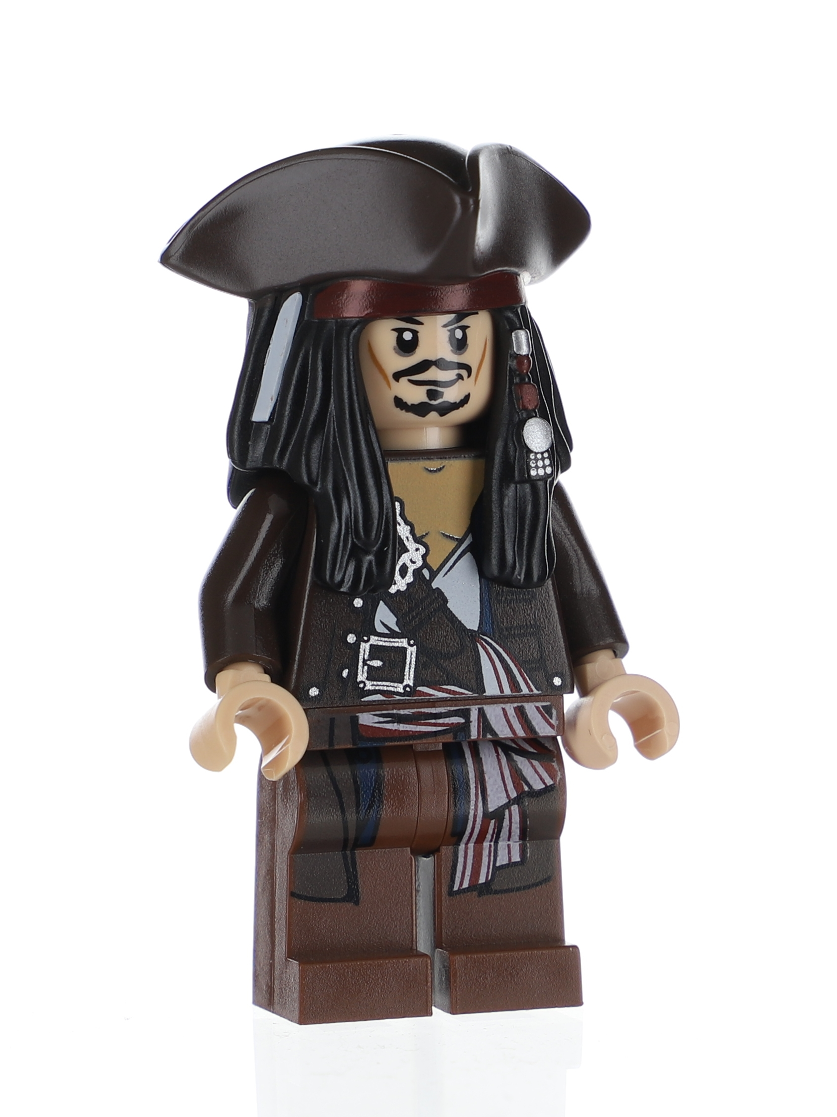 25 NEW Lego Captain Jack Sparrow Minifig Pirates of the Caribbean 4195 4193 4194