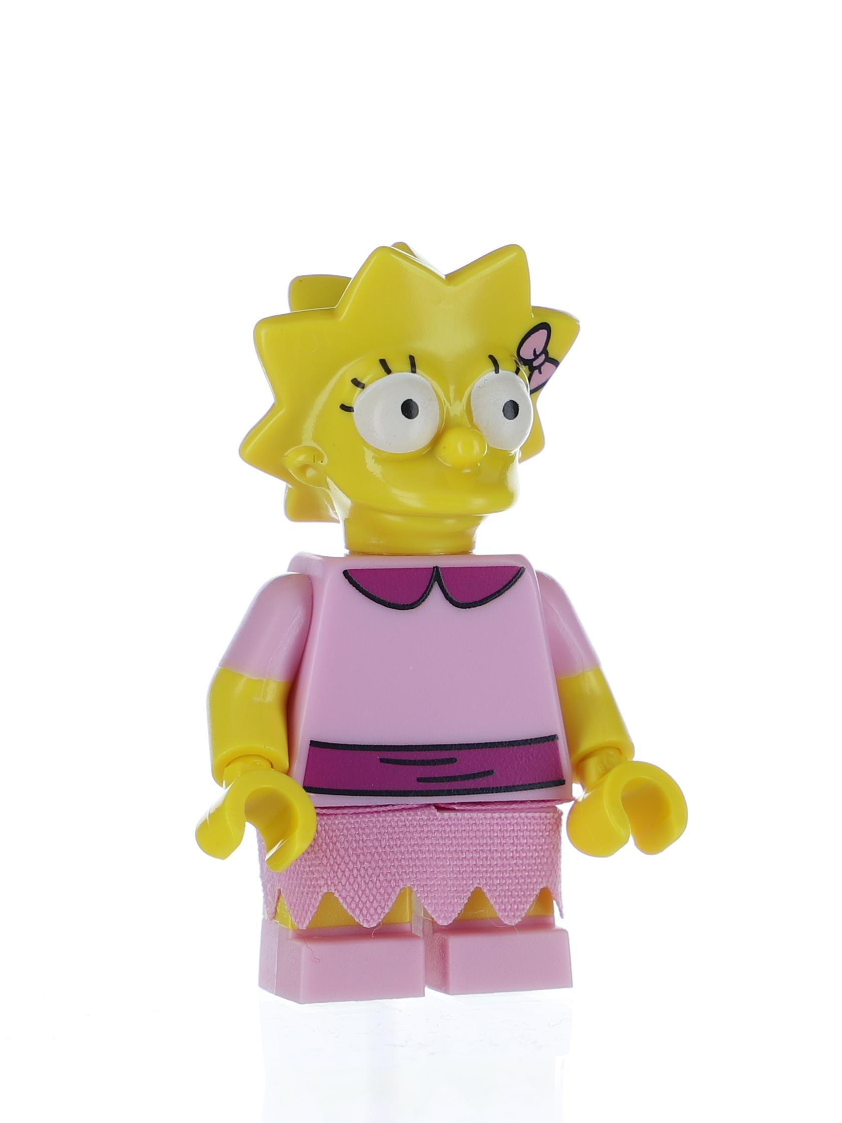 - Figur Minifig Minifigures Lisa Simpson Serie 2 LEGO 71009 The Simpsons